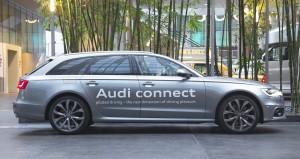 Audi A6 a guida pilotata - CES 2013