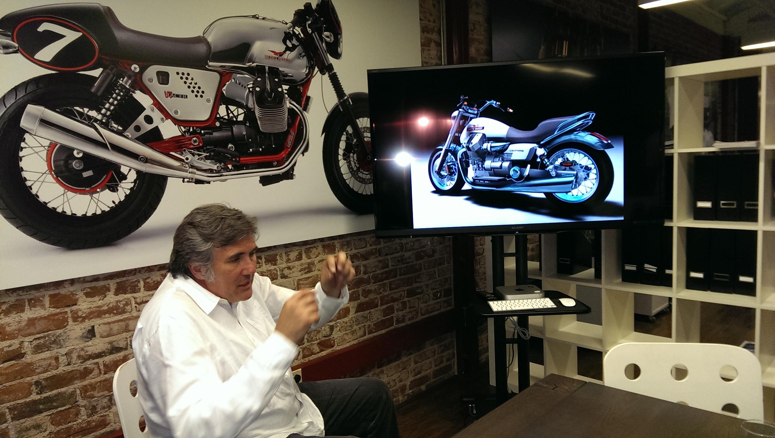 Miguel Galluzzi (Piaggio): come si diventa designer di moto - CarBlogger.it