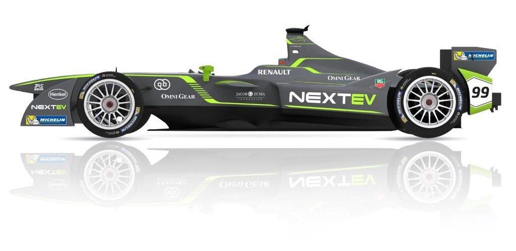 Nextev Formula E 2015