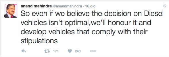 Mahindra Diesel